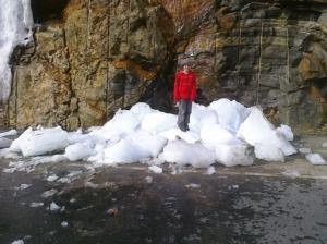 Ben on Ice