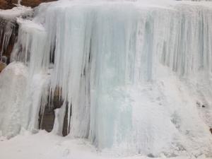 rock ice falls