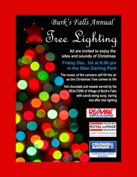 Tree Lighting Poster